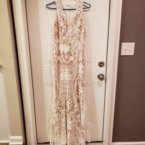 Vici Dolls Lace Maxi Dress